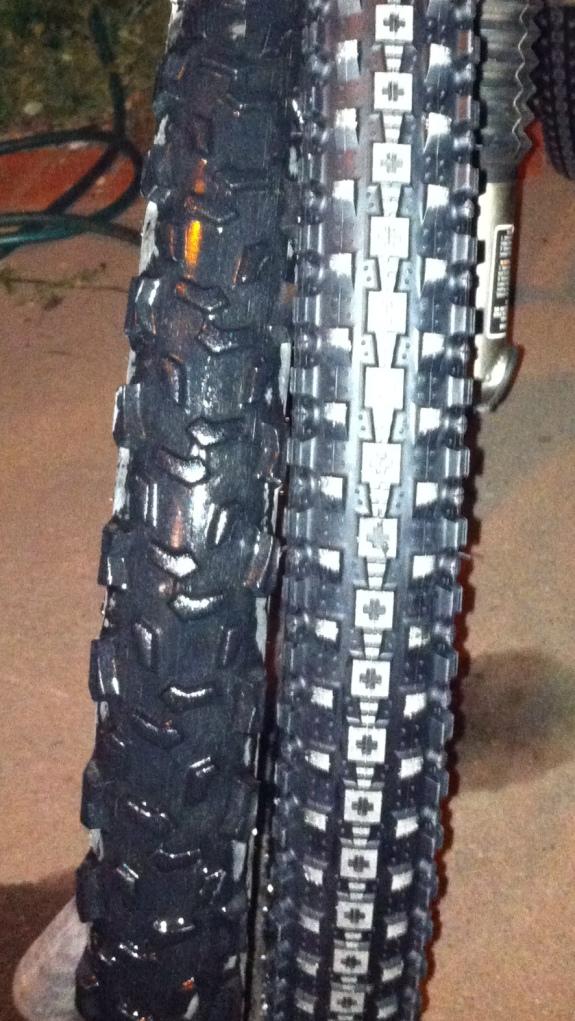 Old mud tyre, meet metro-sexual tyre