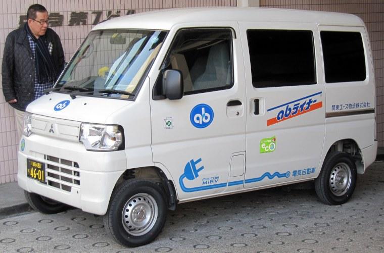 Mitsubishi i-MiEV Minicab - Shinagawa