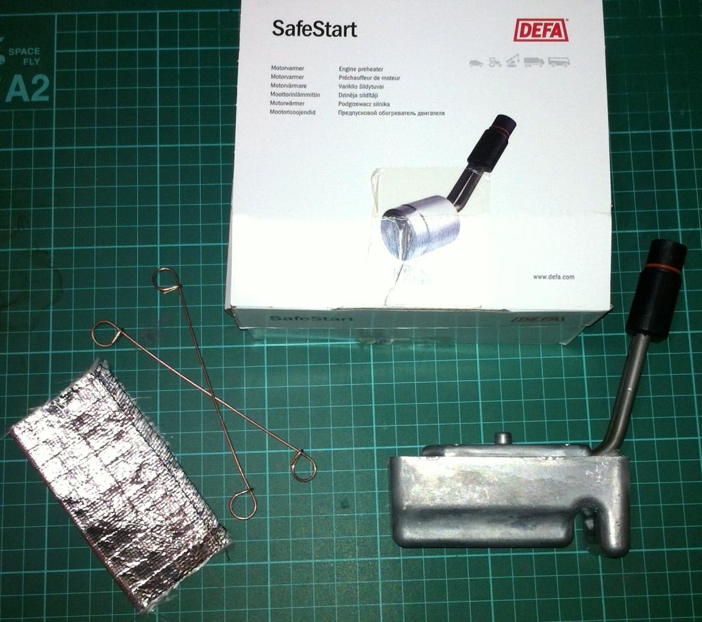 DEFA SafeStart replacement and heat shield